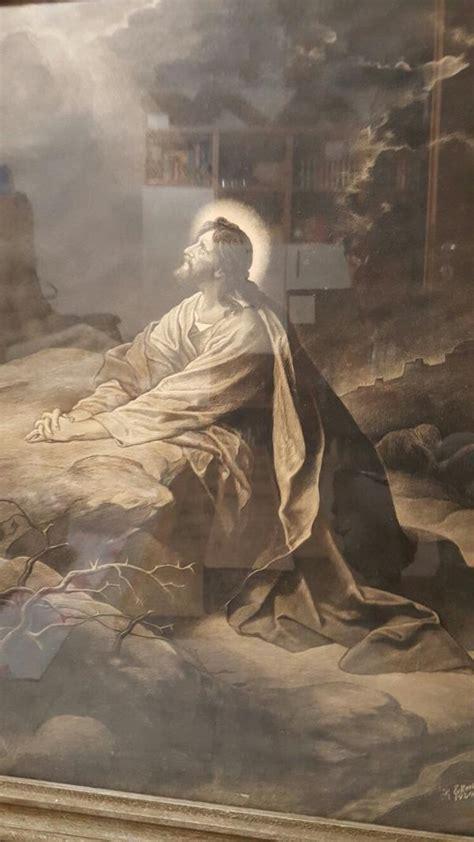 jesus im garten gethsemane  altlussheim kunst gemaelde