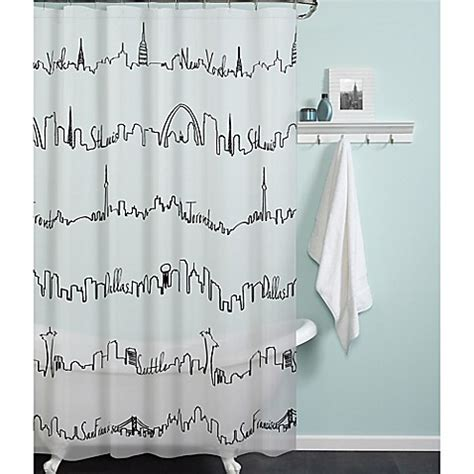 city scape shower curtain city scape shower curtain curtain menzilperde net