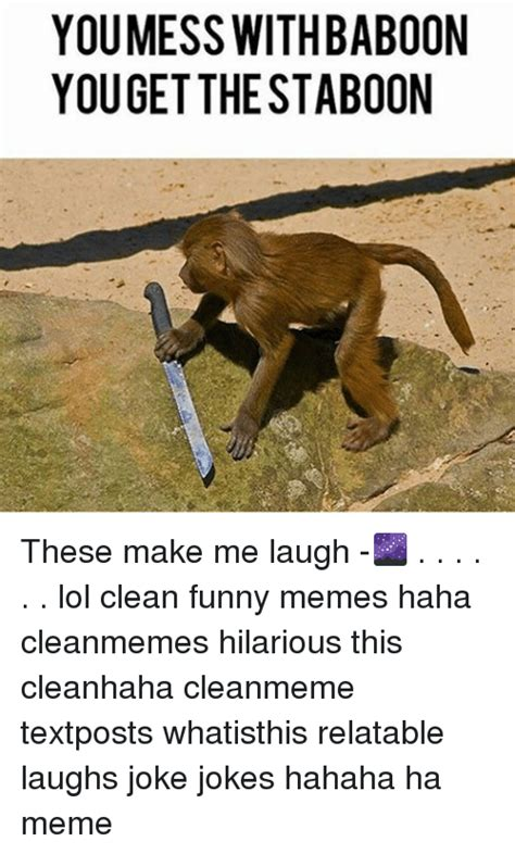 These Make Me Giggle by You Mess With Baboon Youget The Staboon These Make Me