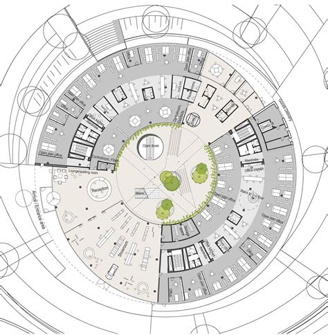 Picture Of A Floor Plan by Gallery Of Syd Energi Headquarters Gpp Arkitekter 14