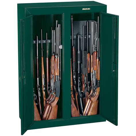 stack on 16 gun door cabinet stack on 16 gun door security cabinet
