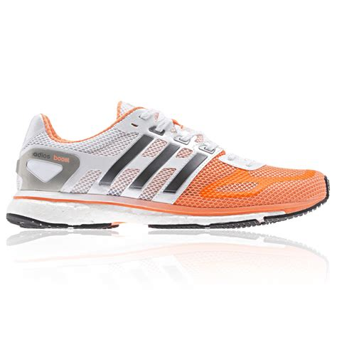 adidas road running shoes adidas adizero adios boost orange womens road running