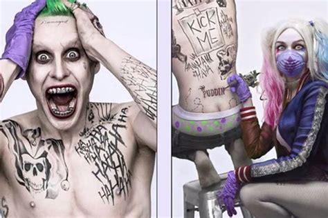 imagenes de joker y su novia escuadr 243 n suicida will smith cuenta c 243 mo prepar 243 el
