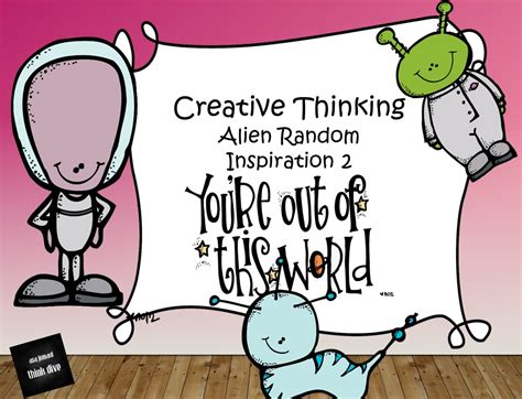 creative thinking random inspiration teach in a box
