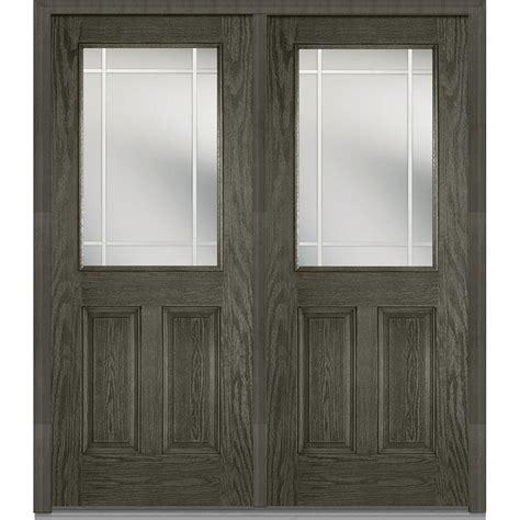 doors 72 x 80 mmi door 72 in x 80 in prairie muntins left