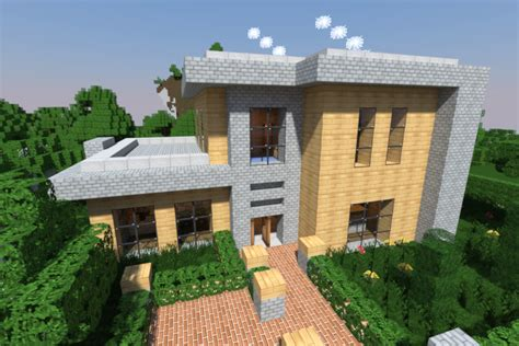 Skinny Houses Floor Plans by Realistic Amp Modern Minecraft Houses Minecraft