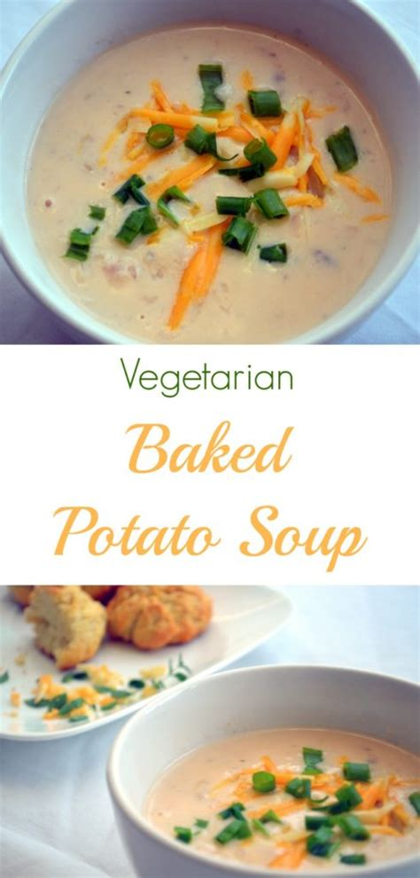 vegetarian baked potato soup recipe vegetarian baked potato soup on the cutting floor
