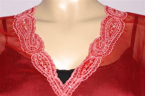 Blouse Sulam afia collections blouse kaftan chiffon sulam kini rm 50