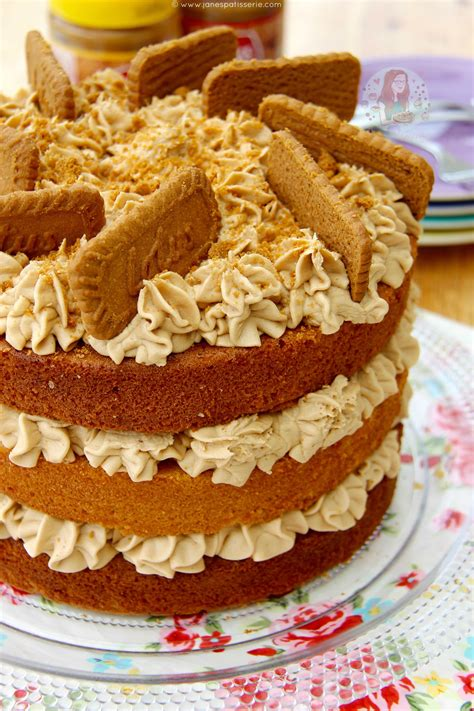 The Sweet Recipe Cake biscoff cake s patisserie