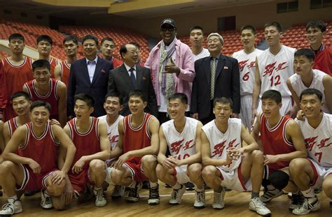 Playes Of Mba That Play On Korea by Pyongyang Korea Rodman Holds Tryouts For