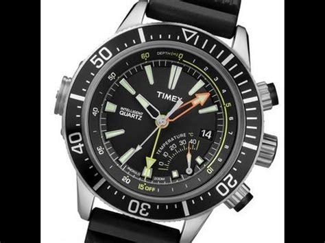 timex dive watches timex depth t2n810 intelligent quartz taucheruhr