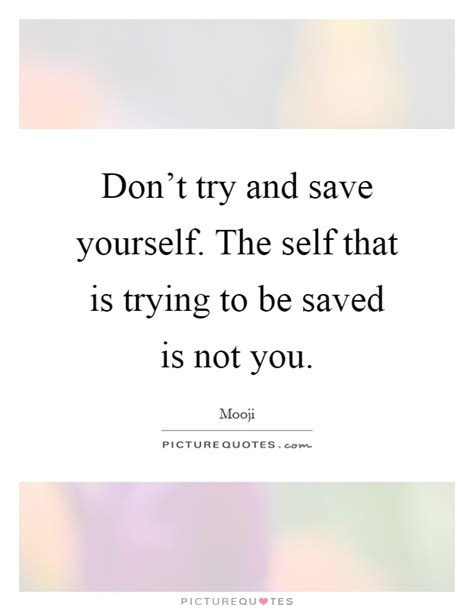 the on how to yourself up and save the world books don t try and save yourself the self that is trying to be
