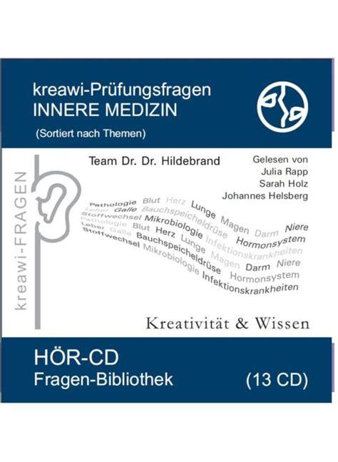die innere medizin pr 252 fungsfragen 1 die innere medizin h 246 rbuch h 246 rb 252 cher