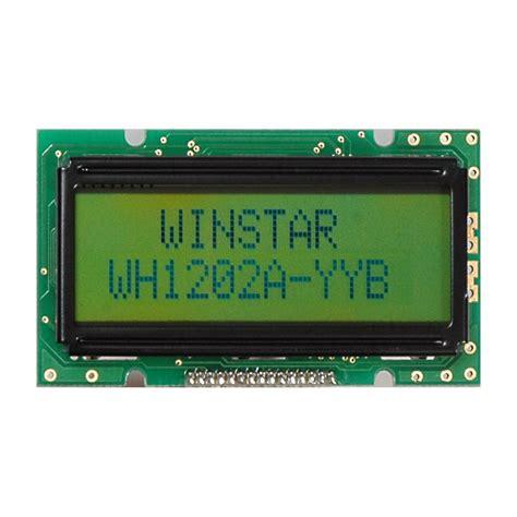 Lcd Display winstar display lcd 12x2 small lcd displays wh1202a