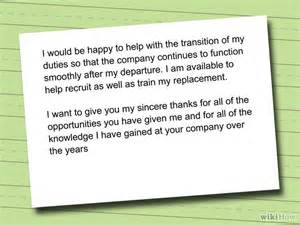 Thank You Letter Boss Before Resignation how to write a resignation letter with sample resignation