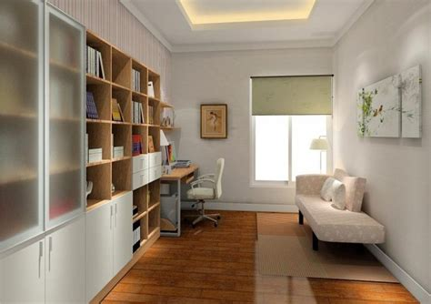 white study room design picture ideas