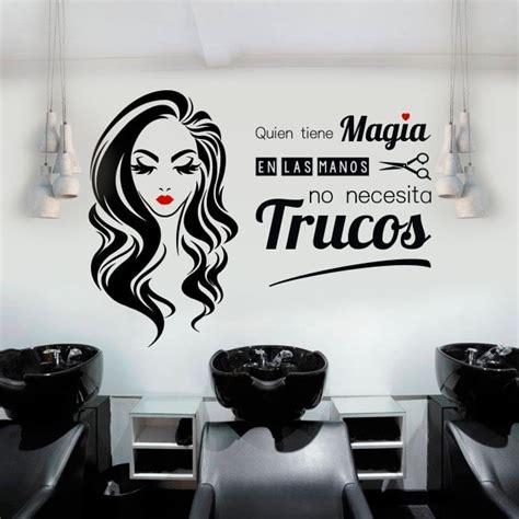salones de peluqueria vinilos salones de belleza y peluquer 237 as quien tiene magia