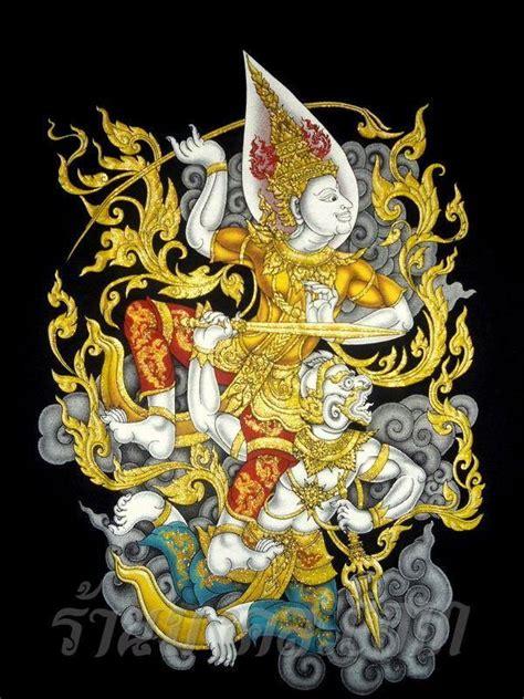 google pinterest thai art hanuman  ganesha