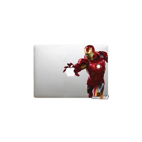 Macbook Aufkleber Ironman by Sticker Ironman Jump Apple