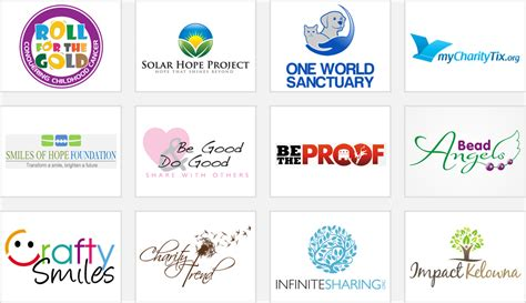 A Listers Get Their Design On For Charity by Charity Organization Logos