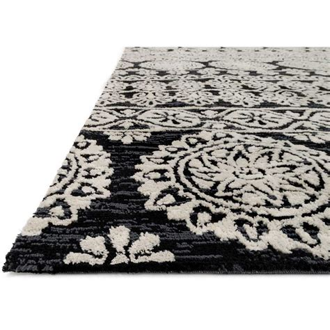black and rug black and silver rug rugs ideas