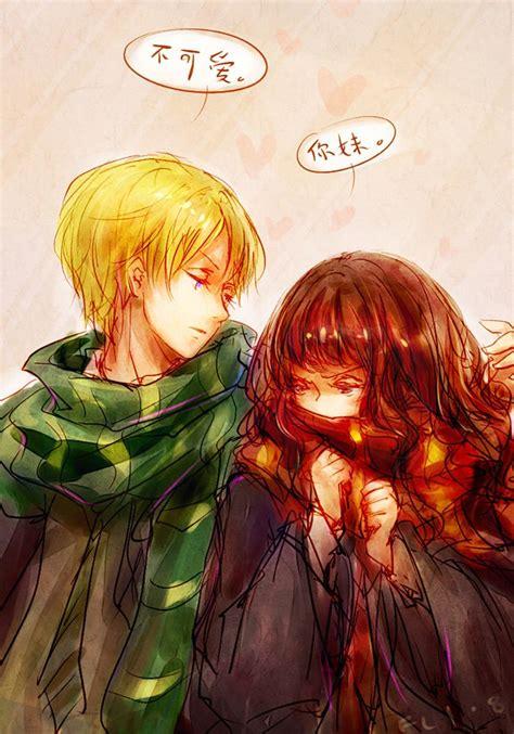 Hermione Granger X by Hp Draco X Hermione By Flafly Deviantart On