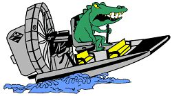 airboat cartoon boggy creek airboat ride boggy creek airboat ride