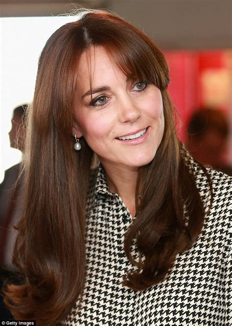 kate middleton s shocking new hairstyle kate middleton pins back her hair for a visit to hton