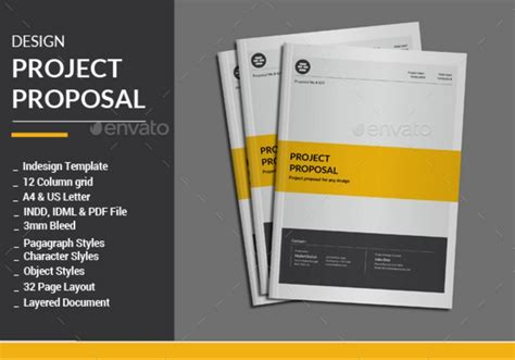 design proposal psd design proposal template word psd and indesign format
