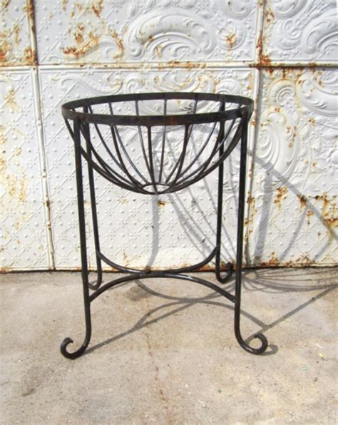Wrought Iron Planters Plant Stands by 22 Quot Wrought Iron Metal Plant Stand