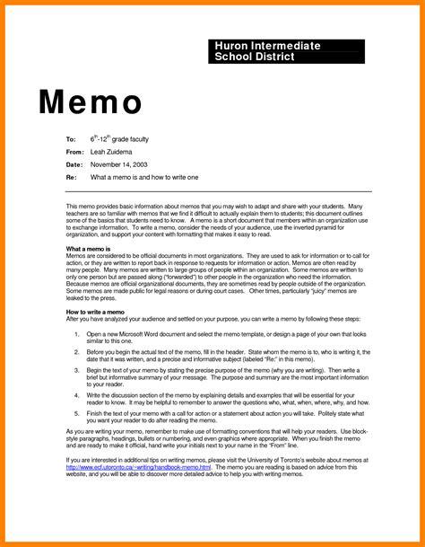 format memo 8 memorandum formal letter writing format new hope