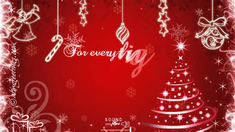 merry christmas   ecards wishes  card video messages   youtube