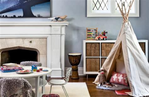 petit rien pour chambre d enfant tipi pour une chambre d enfant inspiration d 233 co
