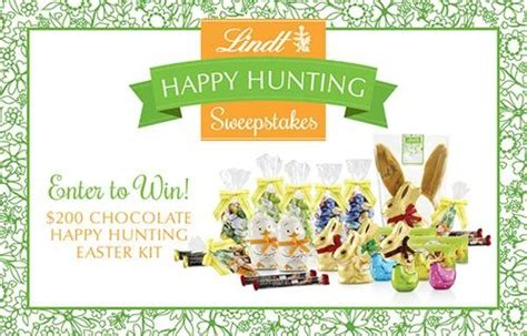 Happy Contest Win A Mimobot by Lindt Win A Happy Easter Kit Sweepstakes
