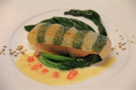 cuisine minceur 鮭の香草クルート焼き cuisine minceur