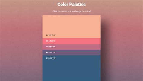 45 free and effective color palette and color scheme random color palette generator 28 images 45 free and