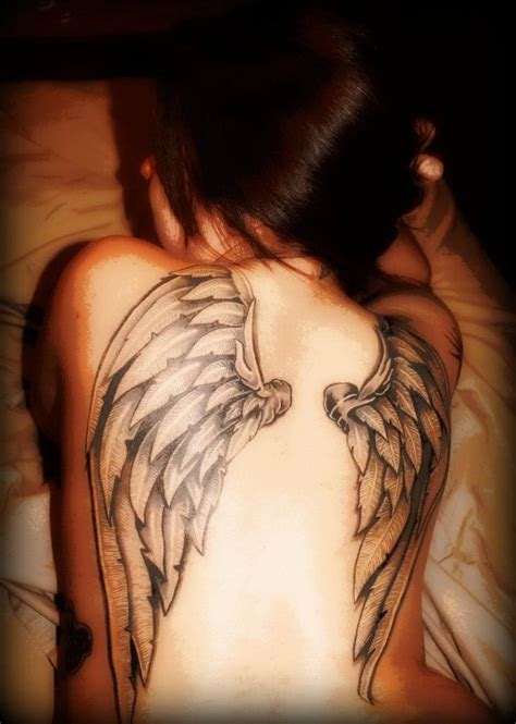 tattoo back angel wings 78 best images about back angel wings tattoos on pinterest