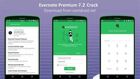 premium apps apk evernote apk 7 2 premium modded cracked hack unlocked
