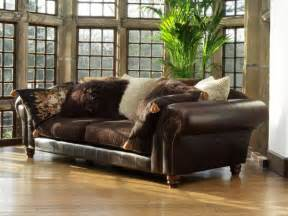 sofas with leather and fabric leather and fabric sofa