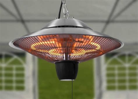 Patio Ceiling Heaters Firefly 1 5kw Ceiling Mounted Halogen Bulb Electric Infrared Patio Heater