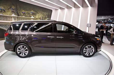 Kia Vans 2015 2015 Kia Sedona Sxl Side Photo 2