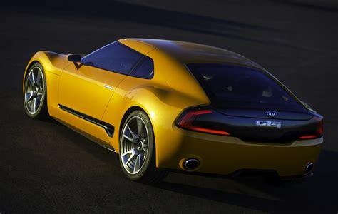 Kia Sports Car Gt4 Stinger Kia Gt4 Stinger Quot Aggressive Quot Sports Car Concept Unveiled