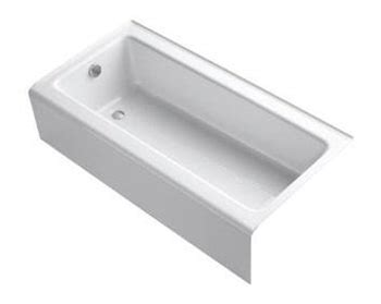 kohler bellwether bathtub kohler k 837 bellwether bath tub 60 quot l x 30 1 4 quot w cast
