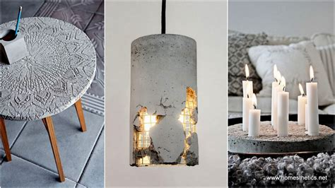 Concrete Diy | 15 diy concrete ideas for a chic minimal design