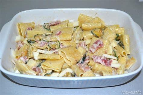 come cucinare i paccheri al forno 187 paccheri al forno con zucchine e pancetta ricetta