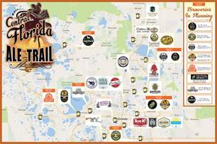 florida breweries map central florida ale trail a trail of 17 breweries and