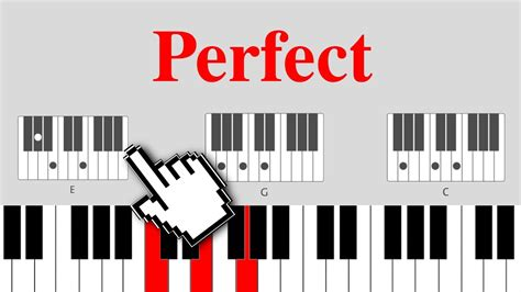 ed sheeran perfect midi free perfect ed sheeran on piano easy chords chords chordify