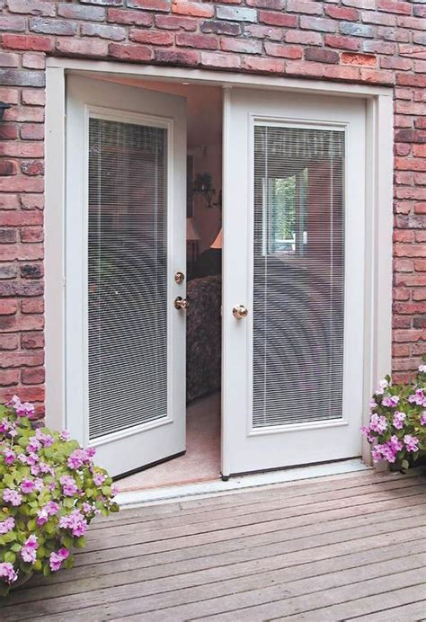 Best Patio Door Top Notch Sliding Patio Doors With Blinds The Best Patio