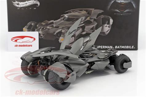 Hotwheels Batmobile Line ck modelcars cmc89 batmobile batman v superman of justice 2016 black 1 18