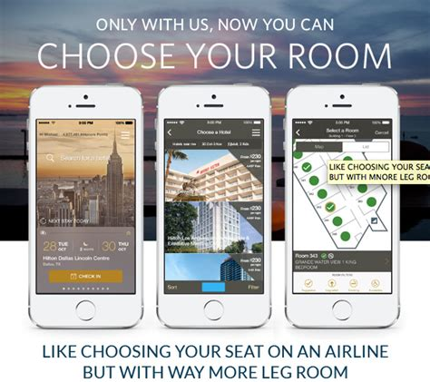hilton hhonors review us news travel check in choose your room with hilton hhonors app
